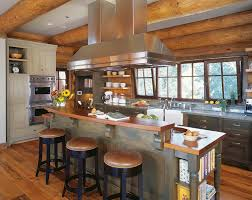 Log Cabin Kitchen Cabinet Ideas by Classic Cabinet Elements