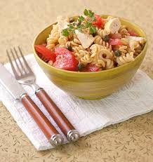salade de pâtes au poulet tomates et câpres les meilleures