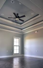 Tilton Coffered Ceiling Canada by Double Tray Ceiling 118 Teal Pinterest Ceiling Trays And