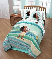 Amazon 4pc Girls Disney s Moana Movie Themed forter Twin