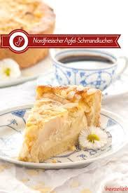 nordfriesischer apfel schmand kuchen rezept für einen