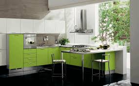 Kitchen Decor Over Cabinets White Wooden Countertop Exquisite Glass Chandelier Kithen Cabinet Greenery