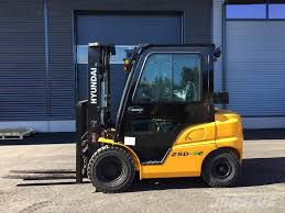 100 Hyundai Trucks 25D9E Diesel Forklifts Year Of Manufacture 2018 Mascus UK