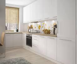 l form küchenzeile kvantum küchenblock 130x350cm weiß matt