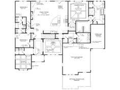 Fischer Homes Floor Plans Indianapolis by Rookwood French Nouveau New Home Ranch Floorplan From Fischer