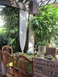 Vinyl Patio Curtains Outdoor by Vinyl Tablecloths In Tropical Miami With Outdoor Lanai Next To