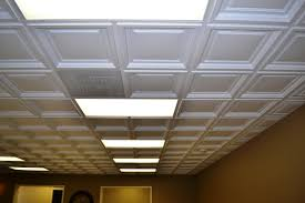 2x4 Drop Ceiling Tiles Tin by Decorating Awesome Faux Tin Ceiling Tiles For Elegant Interior