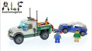 Lego City 60081 Pick Up Tow Truck - Lego Speed Build Review - YouTube