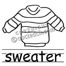 Sweater 20clipart 121