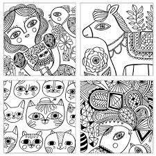 My Happy Doodles Posh Coloring Book 126 Pages Of Artworks For You To Enjoy Preview The Whole Here