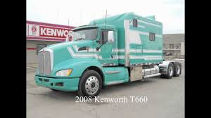 KENWORTH TRUCKS FOR SALE. 2008 T660 132