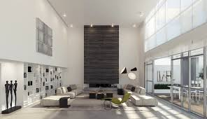 High Ceiling Decorating Ideas Dual Height Living Room