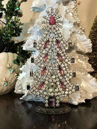 Swarovski Christmas Tree Ornament Lovely Husar Czech Rhinestone Vintage Crystal Pink