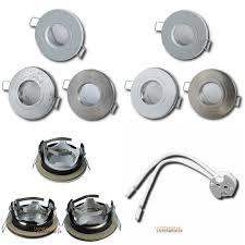 badezimmer einbaustrahler aqua44 12volt ohne leuchtmittel schutzart ip54 mr16 fassung
