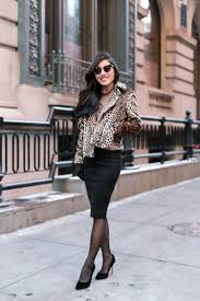 Pencil Skirt Elegant Winter Outfits For Petite Women