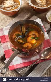 cuisine soupe de poisson soupe de poisson fish soup stock photo royalty free image