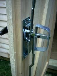 shed door locking t handles shed door t handle lock set 5 12 black