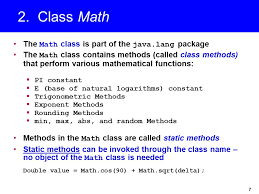 chapter 4 mathematical functions characters and strings ppt