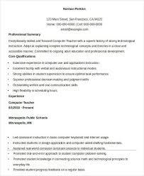 Pre K Teacher Resume Sample 32 Free Word Pdf Documents Download
