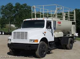1991 International 4900 Hydro Seeder Truck   Item DJ9511   S...