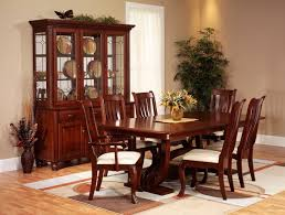 Used Ethan Allen Wingback Chairs by Solid Wood Round Dining Table Ethan Allen Discontinued Room