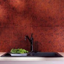 Fasade Decorative Thermoplastic Panels Home Depot by Fasade Pattern Moonstone Copper Tile Backsplashes Tile