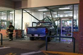 100 Truck Stores Crashes Through Entrance Of Bobs In Billerica VIDEO