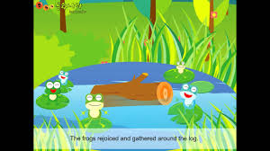 100 King Of The Frogs Bukis Story Land Frogs Who Wanted The King