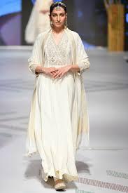 100 Mim Design Couture Ivory Embellished Anarkali Set Anita Dongre Ers