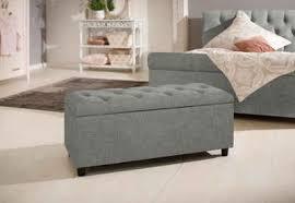home affaire polsterbank goronna in 5 farben sitzhöhe 41 5 cm auch als garderobenbank oder bettbank geeignet