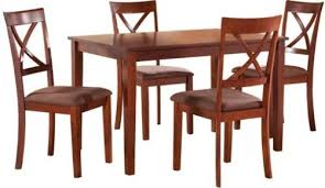 4 Piece Dining Room Sets by Fatto Dining Table 4 Chairs Fatto Dining Table With 4 Back Chairs