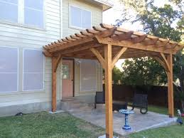 Free Standing Deck Bracing by Best 25 Free Standing Pergola Ideas On Pinterest Porch Roof