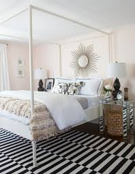 mirrored tables contemporary bedroom erin gates design