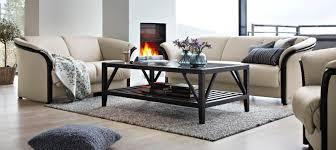 Circle Furniture Eldorado Stressless Highback Sofa Ekornes Sofas MA