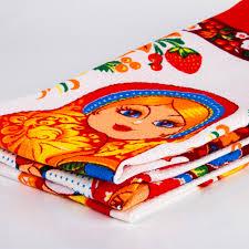 100 Matryoshka Kitchen Towel Set
