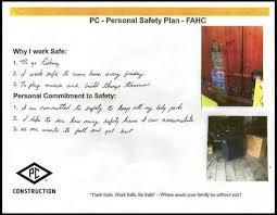 Safety Plan A B