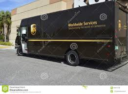 Ups Truck Stock Photos - Royalty Free Images