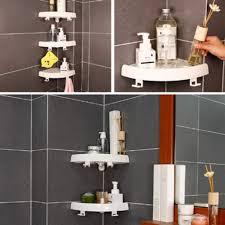 snap up eckregal eckigen badezimmer wand eckhalterung