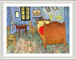 FRAMED Poster Bedroom At Arles Vincent Van Gogh Framed Wall Decor