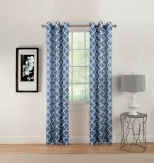 Kmart Sheer Curtain Panels by Essential Home Avenue Grommet Panel