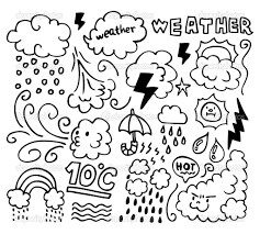 Download Coloring Pages Weather Spring Sheets Printable For Kids