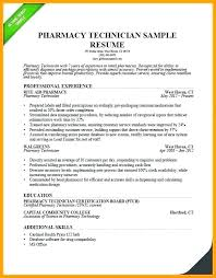 Pharmacist Resume Sample Medical Pharmacy