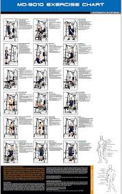 Marcy MD9010G Home Gym Smith Machine With Weight Bench Amazonco