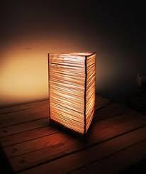 Coffee Stir Sticks Popsicle Lamp By Shen Guo Via Behance