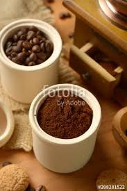 Coffee Powder In The Container