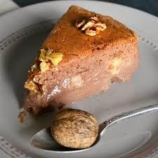 cuisine chataigne recette sans lait gâteau magique à la châtaigne et aux noix