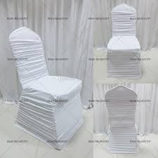 4 Sale Service We Would Rather To Supply The Customer Best Quality And After Sell Goods Colorful Spandex Lycra Ruffled Chair
