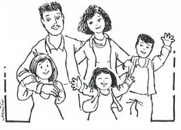 20 Free Printable Family Coloring Pages