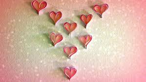 DIY Paper Decorations Heart Chandelier