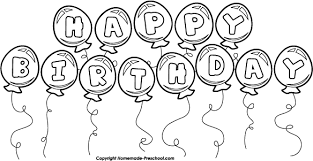 Birthday black and white birthday clip art black and white 2 3